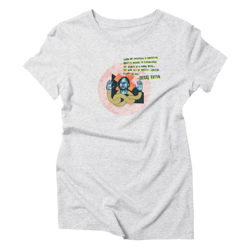 Dignity  Women's Triblend T-Shirt by Jellineck