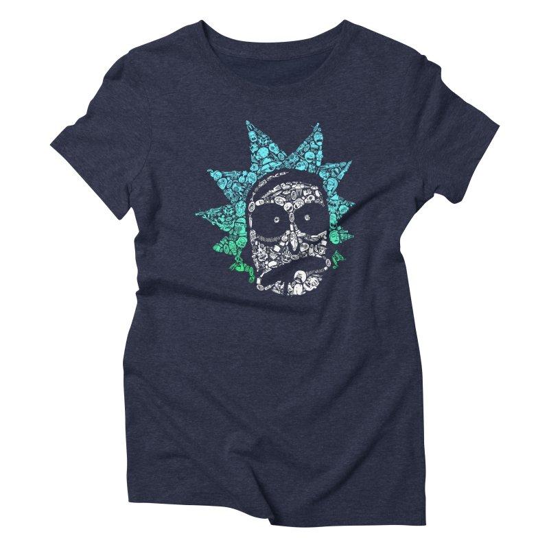Infinite Realities Women's Triblend T-shirt by jellodesigns's Store