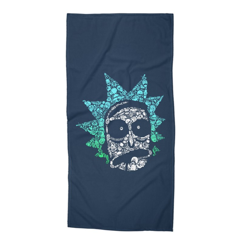 Infinite Realities Accessories Beach Towel by jellodesigns's Store