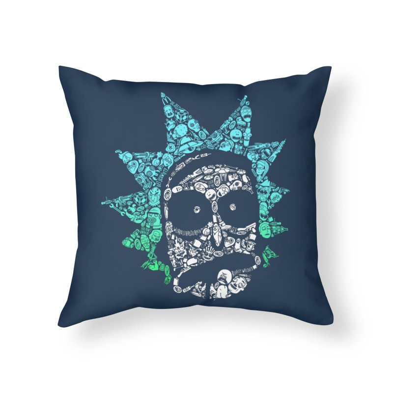 Infinite Realities Home Throw Pillow by jellodesigns's Store