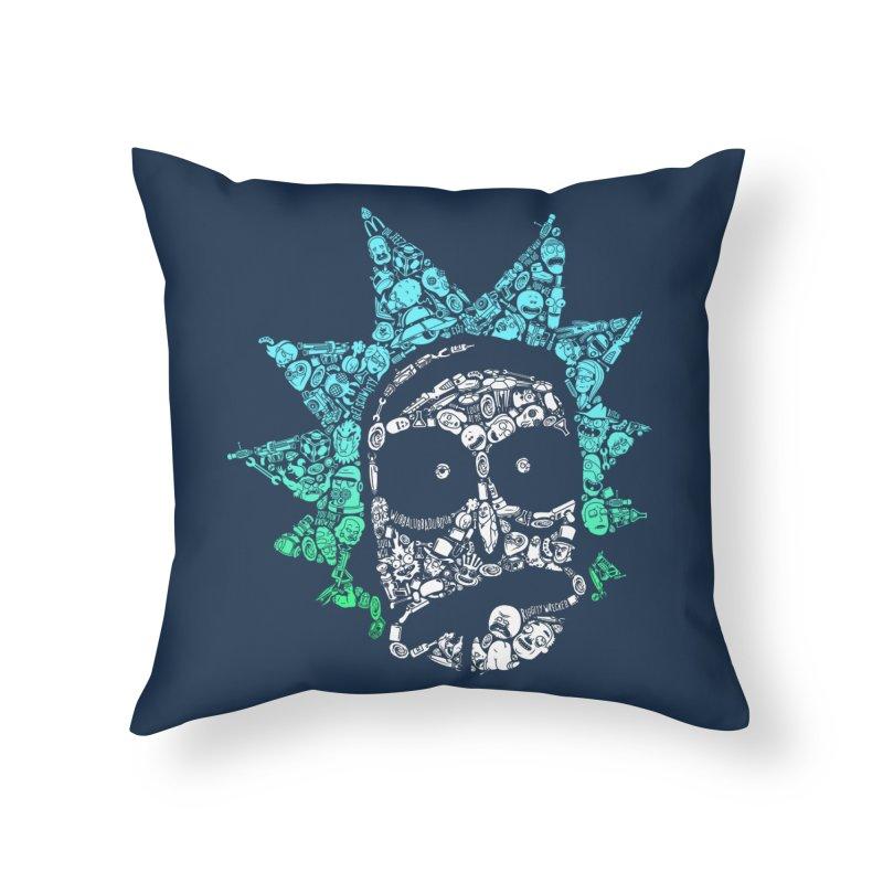 Infinite Realities Home Throw Pillow by jellodesigns's Store
