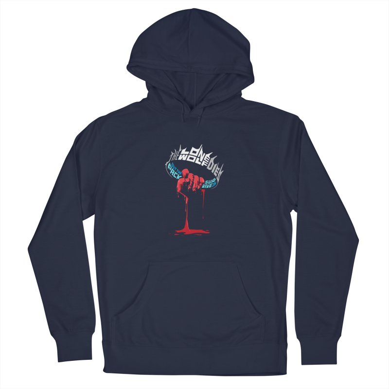 The Pack Survives Men's Pullover Hoody by jellodesigns's Store