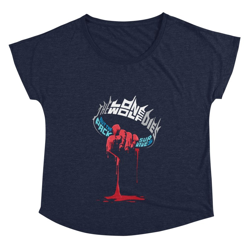 The Pack Survives Women's Dolman Scoop Neck by jellodesigns's Store