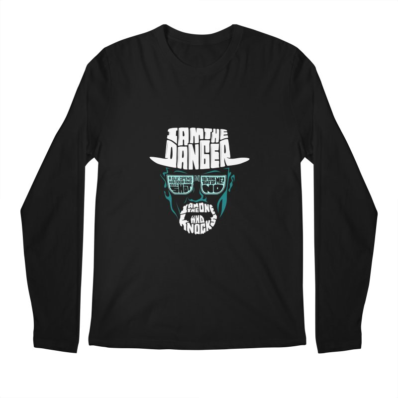 The One Who Knocks 2.0 Men's Regular Longsleeve T-Shirt by jellodesigns's Store