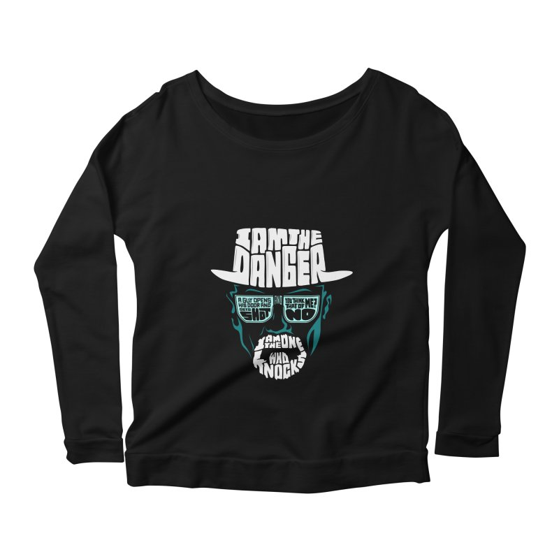 The One Who Knocks 2.0 Women's Longsleeve Scoopneck  by jellodesigns's Store