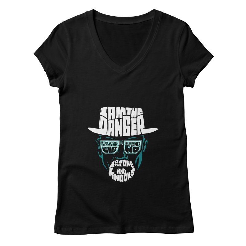 The One Who Knocks 2.0 Women's V-Neck by jellodesigns's Store