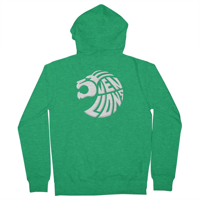 Seven Lions Men's Zip-Up Hoody by jellodesigns's Store