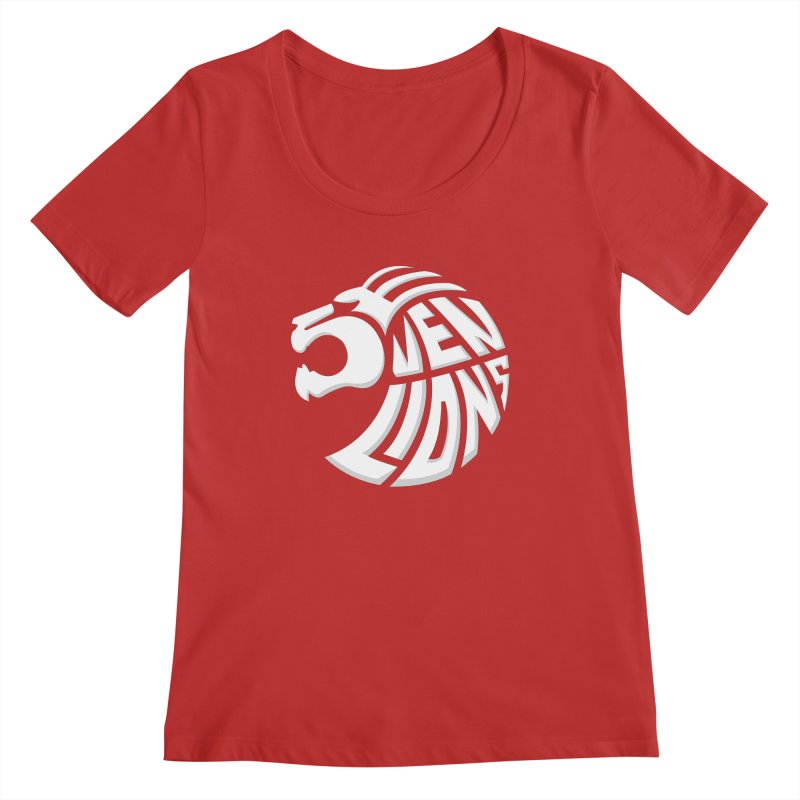 Seven Lions Women's Regular Scoop Neck by jellodesigns's Store