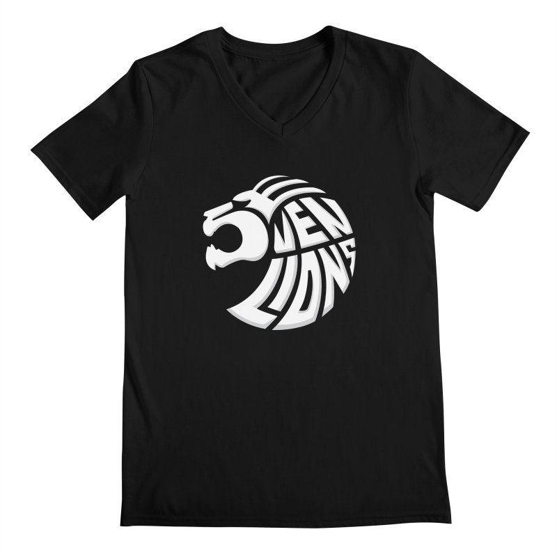 Seven Lions Men's V-Neck by jellodesigns's Store