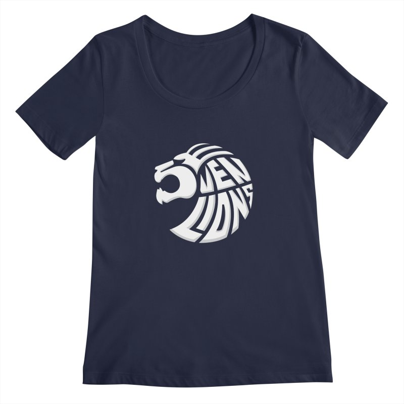 Seven Lions Women's Scoopneck by jellodesigns's Store