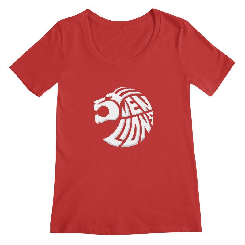 Seven Lions Women's Regular Scoop Neck by jellodesigns's Store