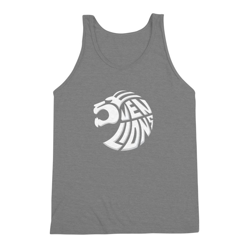 Seven Lions Men's Triblend Tank by jellodesigns's Store