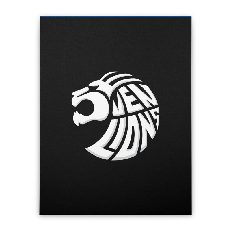 Seven Lions Home Stretched Canvas by jellodesigns's Store