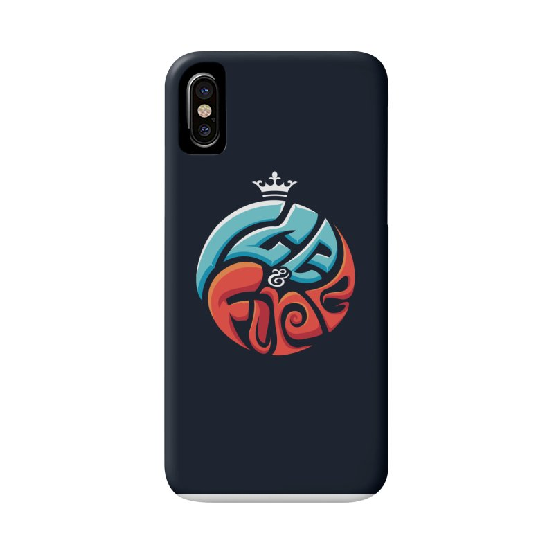 Fire & Ice Accessories Phone Case by jellodesigns's Store
