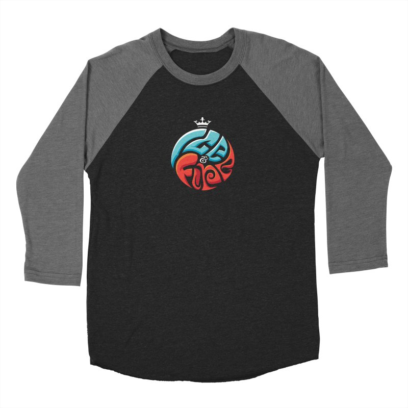 Fire & Ice Men's Longsleeve T-Shirt by jellodesigns's Store
