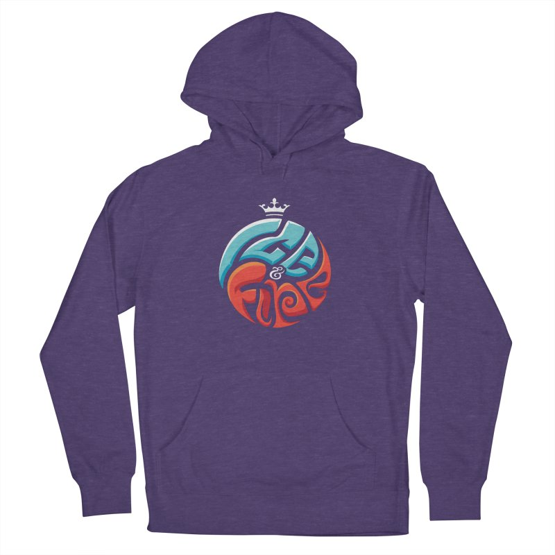 Fire & Ice Men's Pullover Hoody by jellodesigns's Store