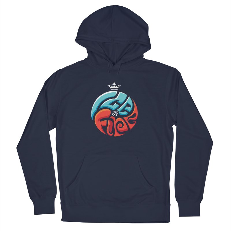 Fire & Ice Men's French Terry Pullover Hoody by jellodesigns's Store