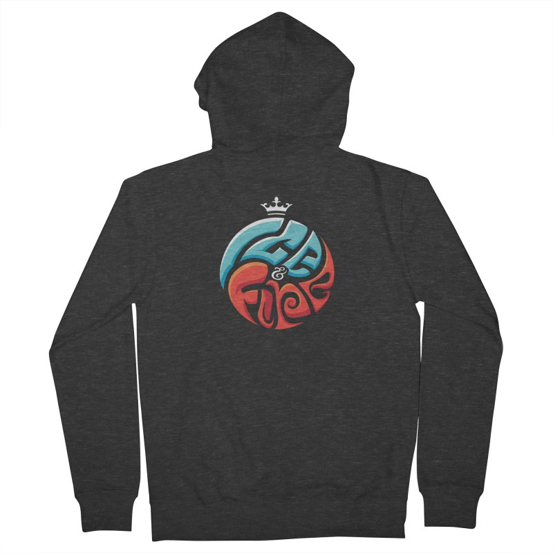 Fire & Ice Women's Zip-Up Hoody by jellodesigns's Store