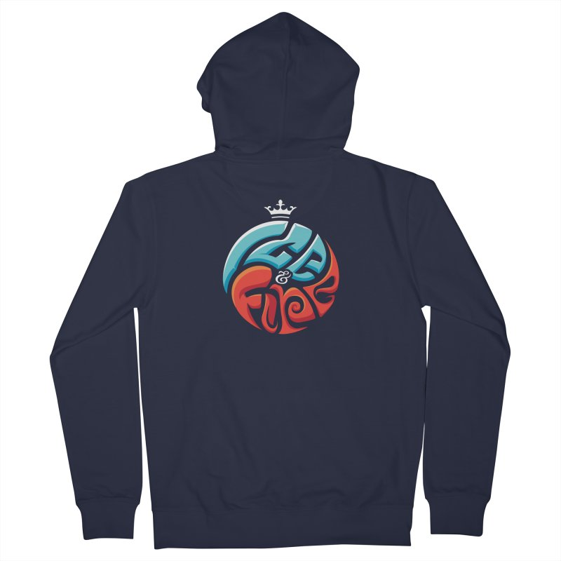 Fire & Ice Men's French Terry Zip-Up Hoody by jellodesigns's Store