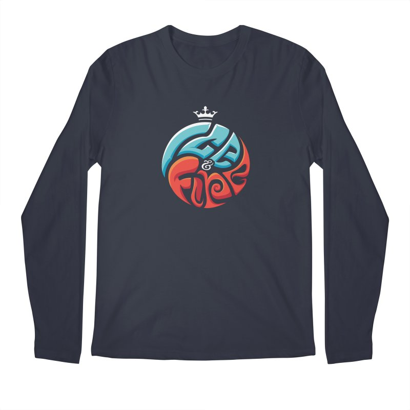 Fire & Ice Men's Regular Longsleeve T-Shirt by jellodesigns's Store