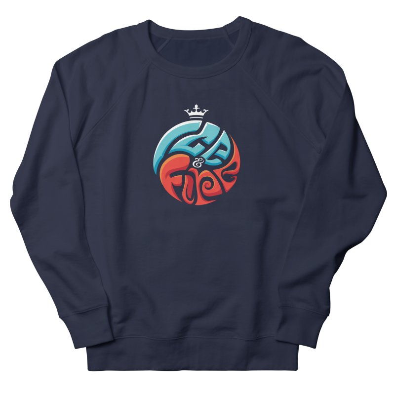 Fire & Ice Men's Sweatshirt by jellodesigns's Store