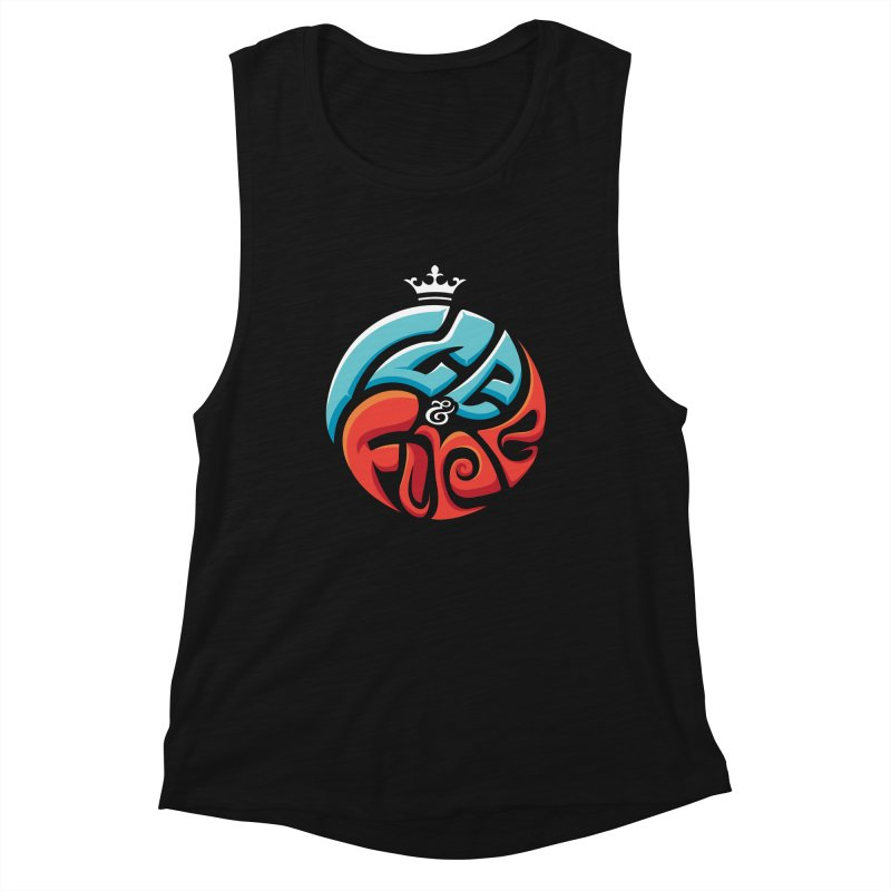 Fire & Ice Women's Tank by jellodesigns's Store