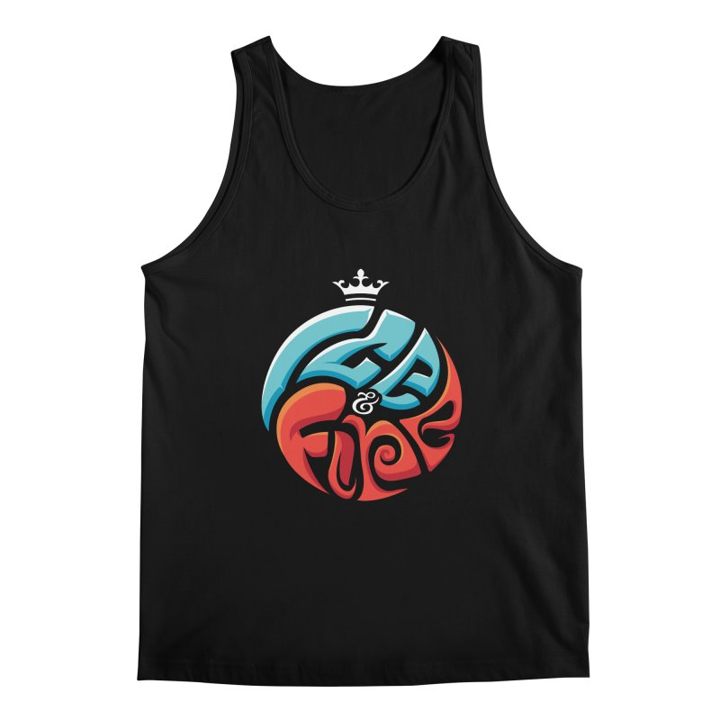 Fire & Ice Men's Regular Tank by jellodesigns's Store