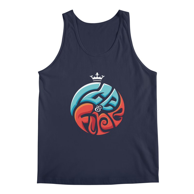 Fire & Ice Men's Tank by jellodesigns's Store