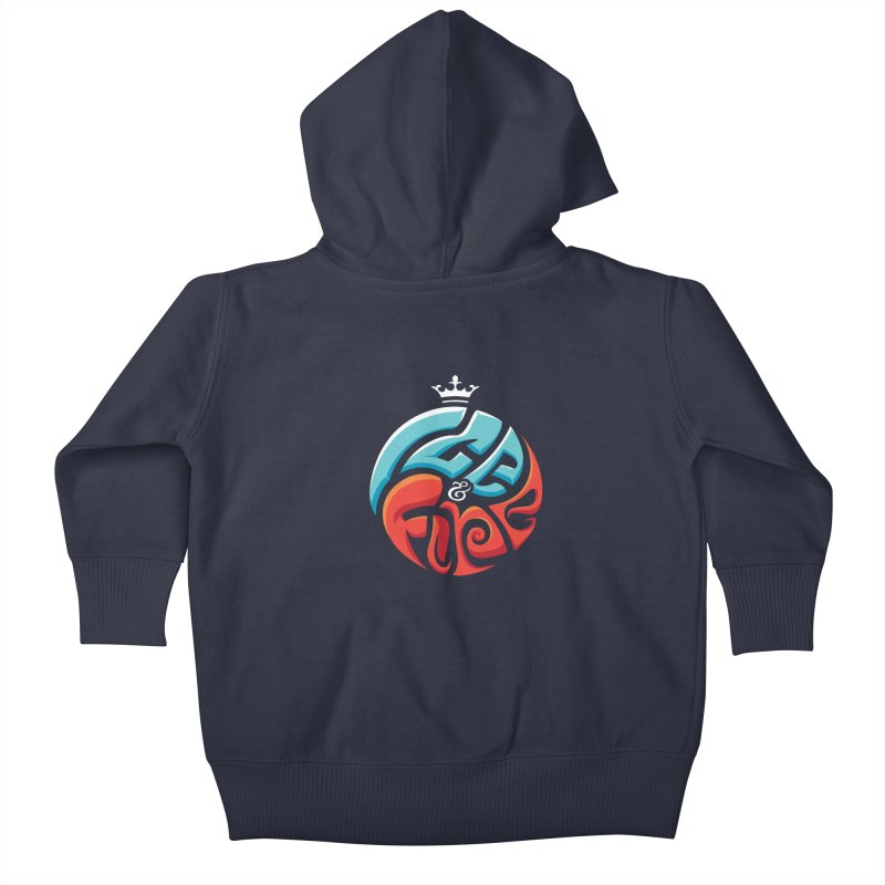 Fire & Ice Kids Baby Zip-Up Hoody by jellodesigns's Store