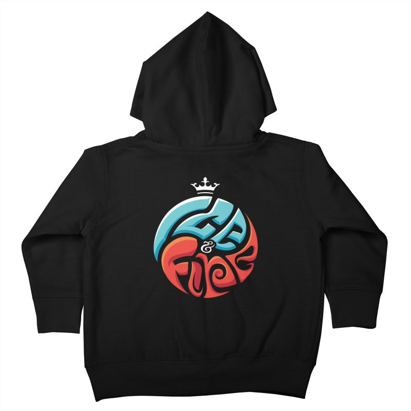 Fire & Ice Kids Toddler Zip-Up Hoody by jellodesigns's Store