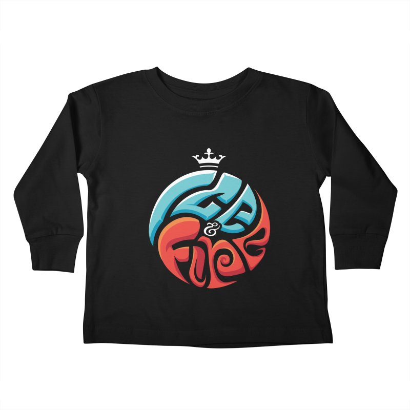 Fire & Ice Kids Toddler Longsleeve T-Shirt by jellodesigns's Store
