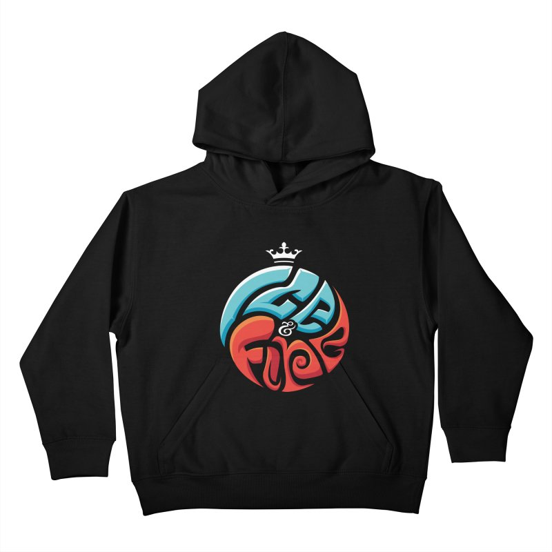 Fire & Ice Kids Pullover Hoody by jellodesigns's Store