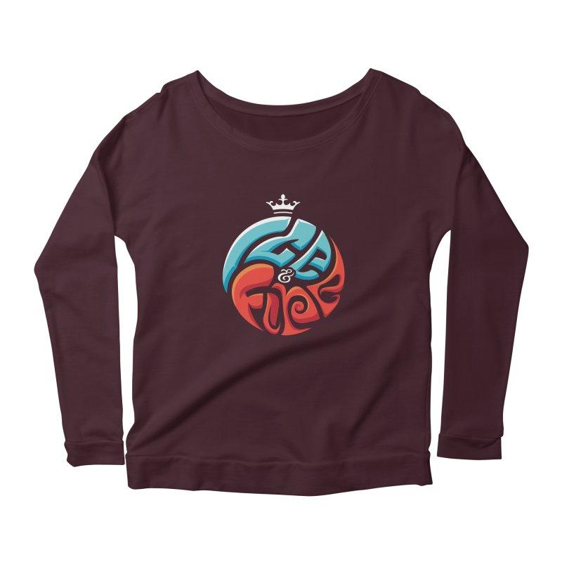 Fire & Ice Women's Scoop Neck Longsleeve T-Shirt by jellodesigns's Store