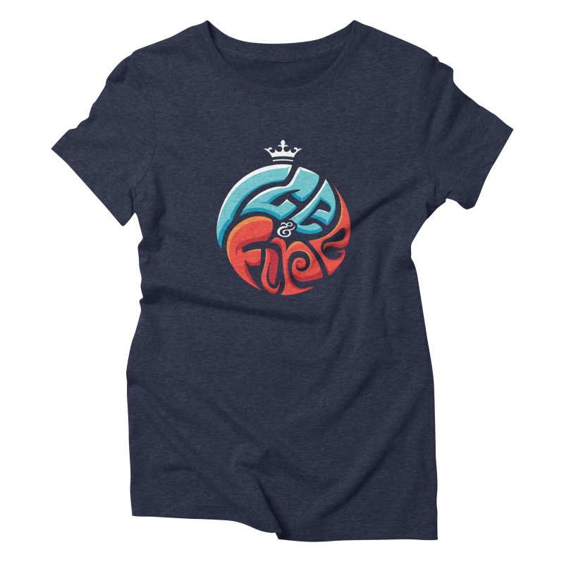 Fire & Ice Women's Triblend T-Shirt by jellodesigns's Store