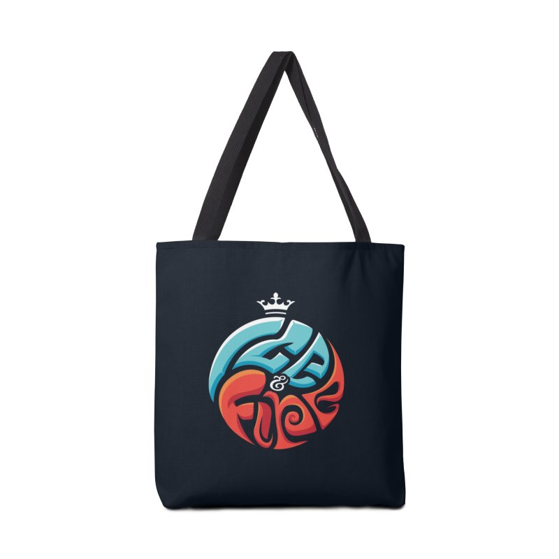 Fire & Ice Accessories Bag by jellodesigns's Store