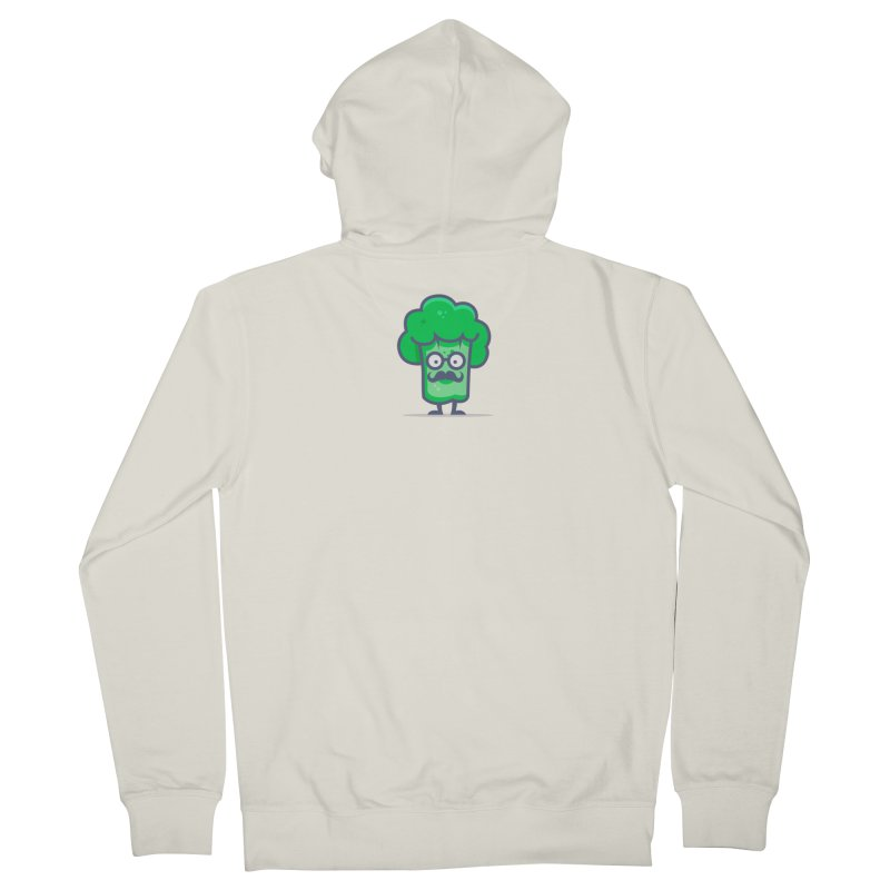 Professor Vegetable Women's French Terry Zip-Up Hoody by jellodesigns's Store