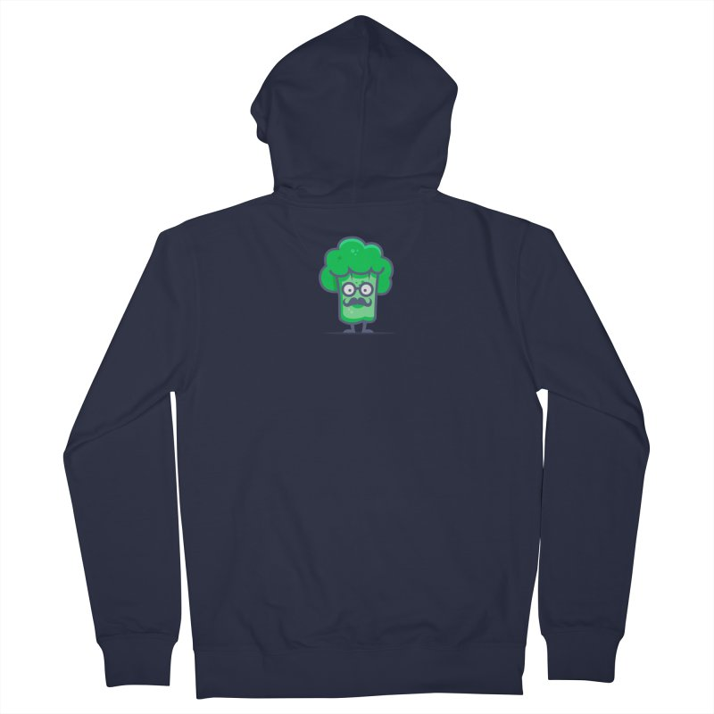 Professor Vegetable Men's French Terry Zip-Up Hoody by jellodesigns's Store