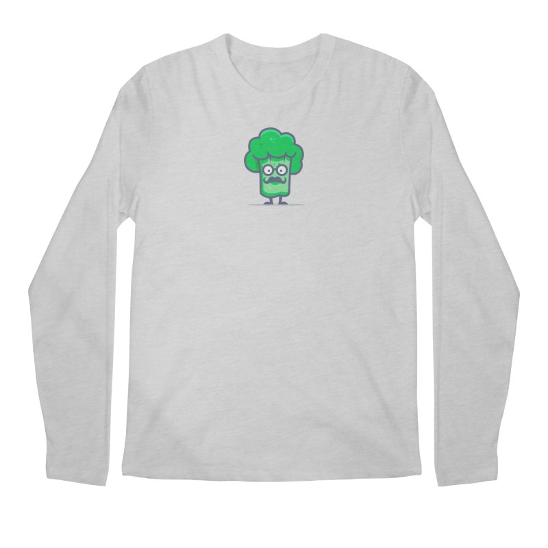 Professor Vegetable Men's Regular Longsleeve T-Shirt by jellodesigns's Store