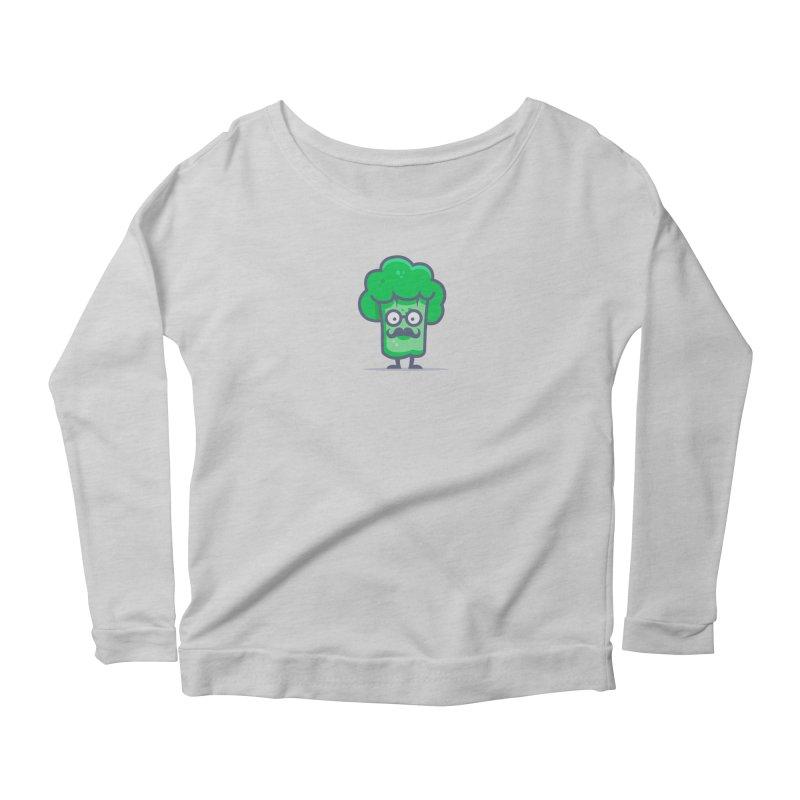 Professor Vegetable Women's Scoop Neck Longsleeve T-Shirt by jellodesigns's Store