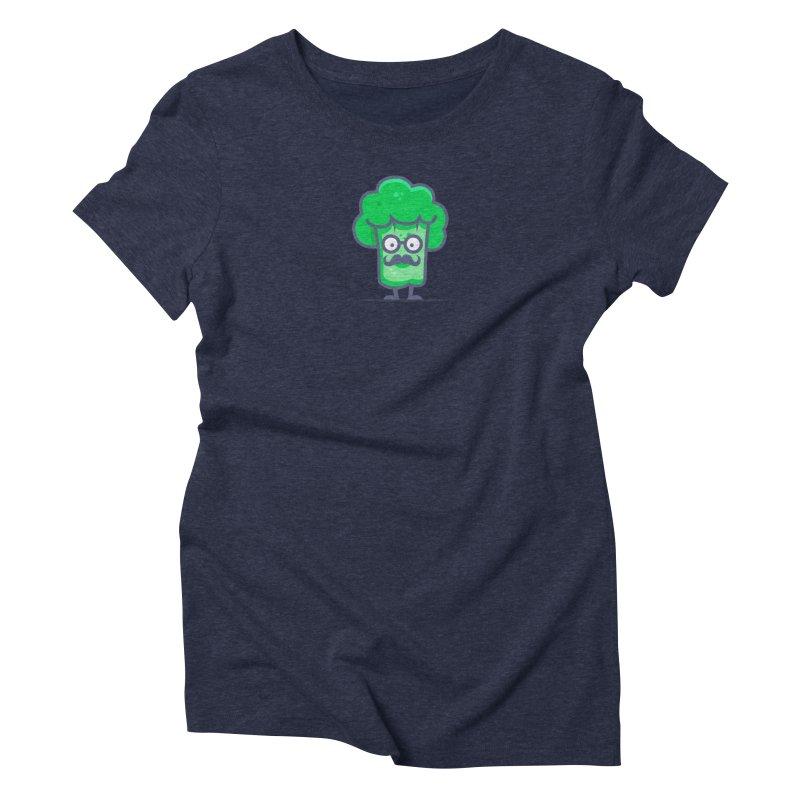 Professor Vegetable Women's Triblend T-Shirt by jellodesigns's Store