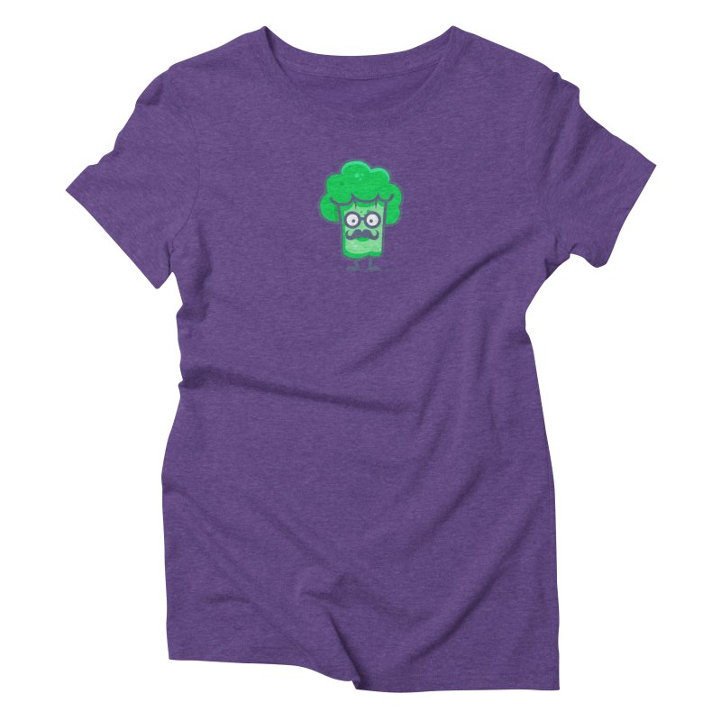 Professor Vegetable Women's Triblend T-Shirt by jellodesigns's Store