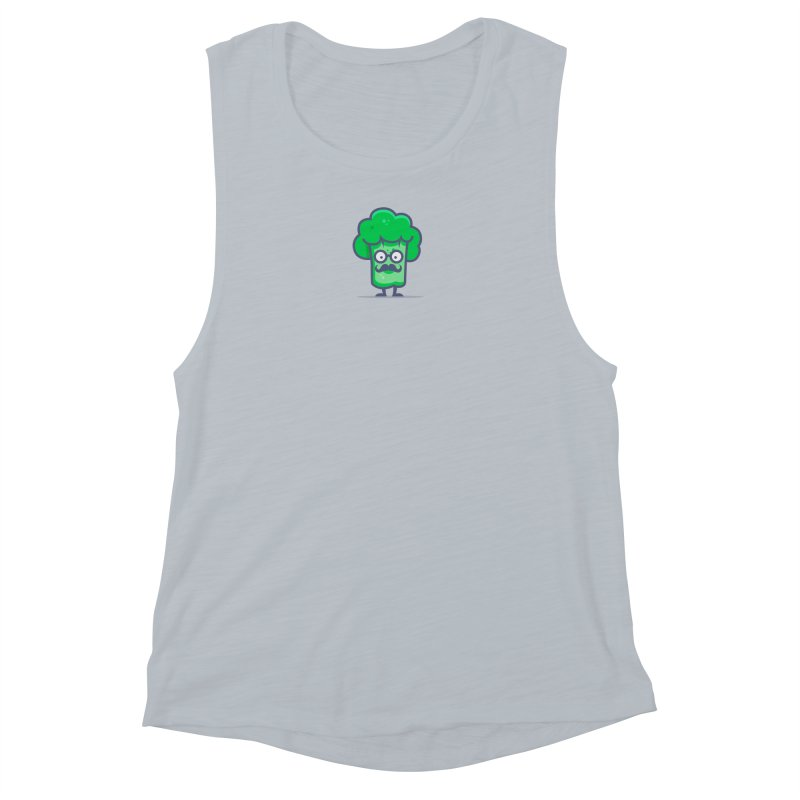 Professor Vegetable Women's Muscle Tank by jellodesigns's Store