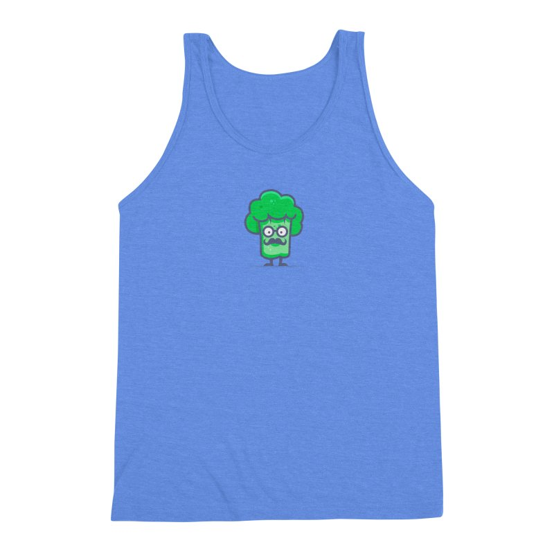 Professor Vegetable Men's Triblend Tank by jellodesigns's Store