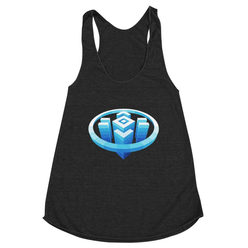 Shelter Women's Racerback Triblend Tank by jellodesigns's Store