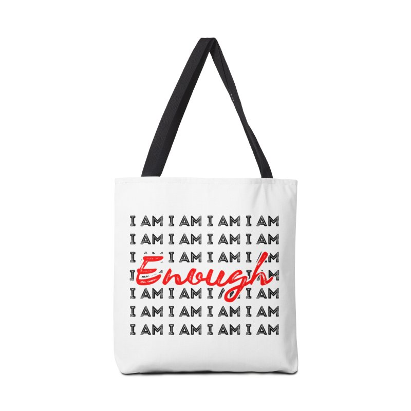I Am Enough Accessories Bag by Jelly Designs