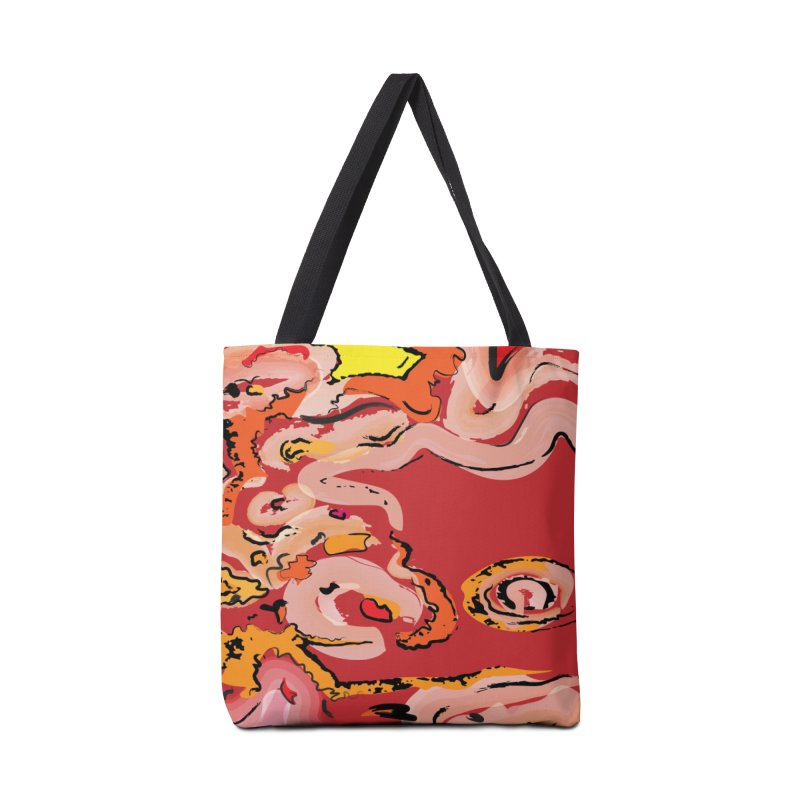 The Eye of Marble Accessories Bag by Jelly Designs