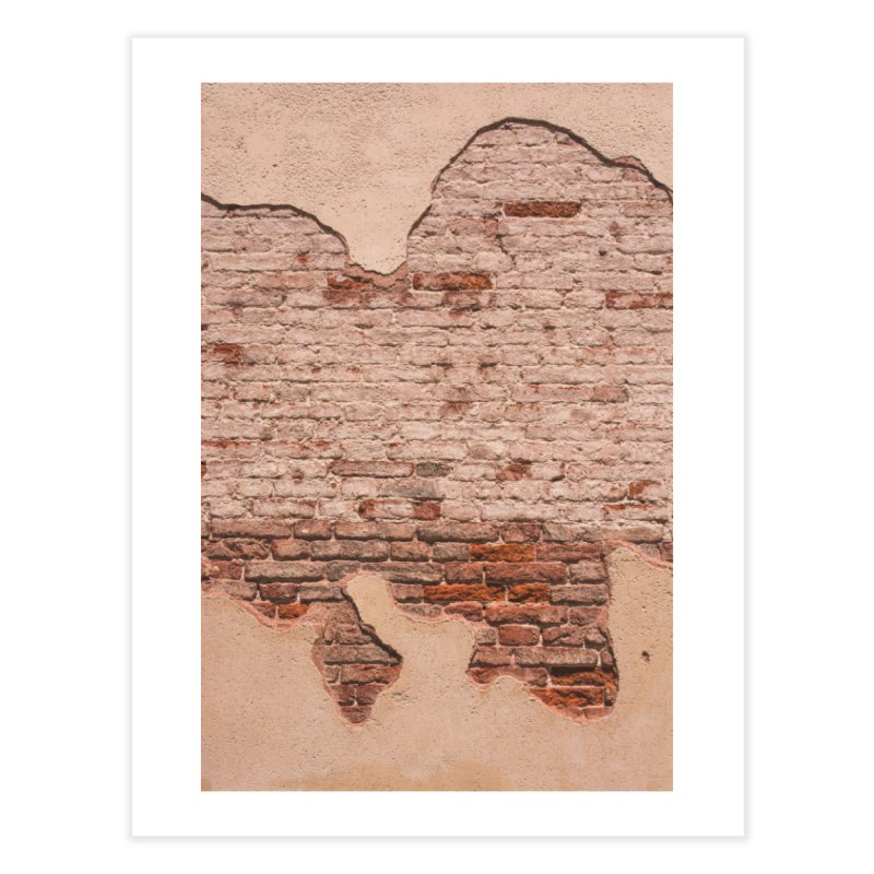 Brick By Brick & Everything In Between Home Fine Art Print by Jelly Designs