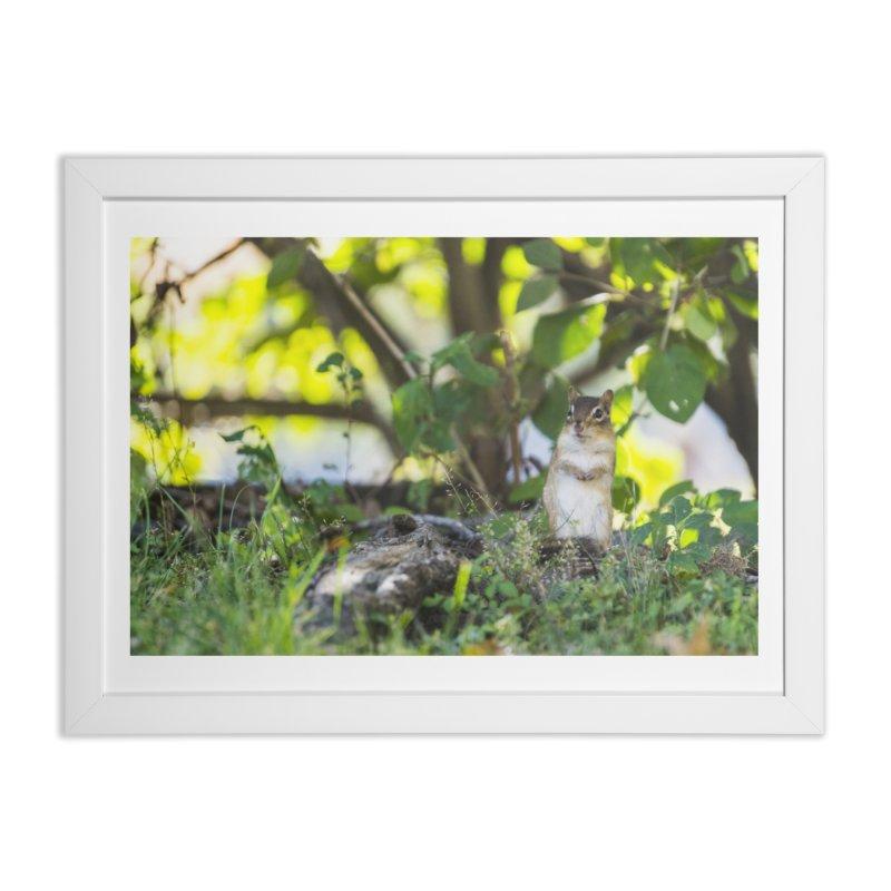 Be Polite Home Framed Fine Art Print by Jelly Designs