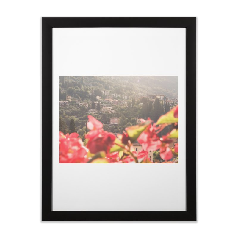 Sunny Varenna Home Framed Fine Art Print by Jelly Designs