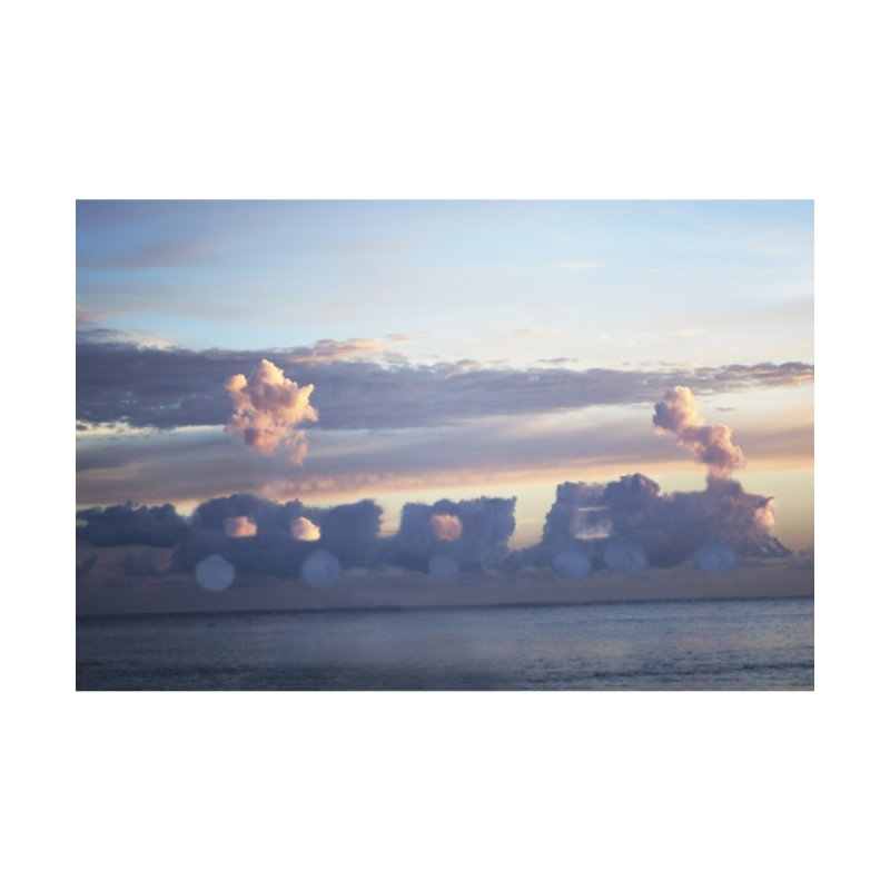 Clouds Part 1 : Riding Into The Sunset Home Fine Art Print by Jelly Designs